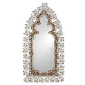 Currey and Company Shahrazad Mirror in Natural I Homeclick