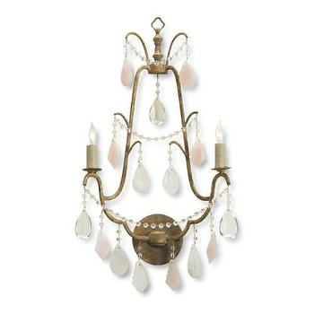 Currey and Company Fairytale 2 Light Wall Sconce I Homeclick