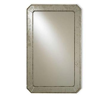 Currey and Company Wall Mirror in Antique I Homeclick