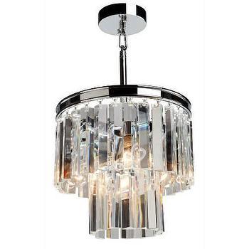 Lighting - Artcraft El Dorado 3 Light Chandelier I Homeclick - crystal fringe chandelier, crystal wedding cake chandelier, crystal and chrome chandelier,
