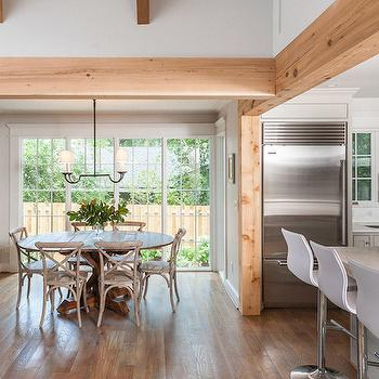 Breakfast Nooks, Transitional, kitchen, Christopher Architects