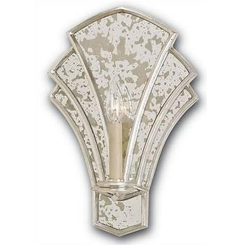 Currey and Company Calais 1 Light Wall Sconce I Homeclick