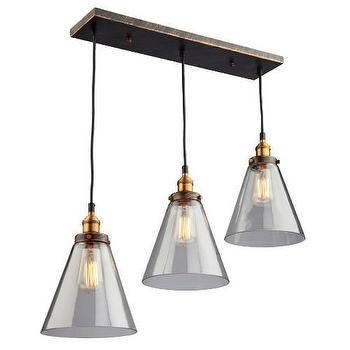Artcraft Greenwich 30 3 Light Pendant in Silver Leaf I Homeclick