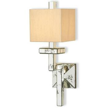 Currey and Company Eclipse 1 Light Wall Sconce I Homeclick