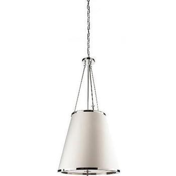 Lighting - Artcraft Paris 2 Light Chandelier in Chrome I Homeclick - cone shaped drum pendant, chrome trimmed chandelier, cone drum chandelier,