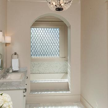 Arched Tub Alcove, Transitional, bathroom, Christopher Architects