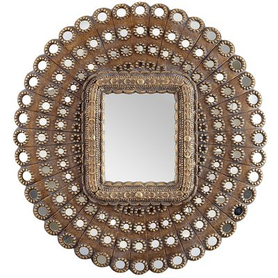 Pier 1 Golden Medallions Mirror Look for Less