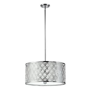 Cyan Design Dauphine Large 5 Light Pendant in Chrome I Homeclick
