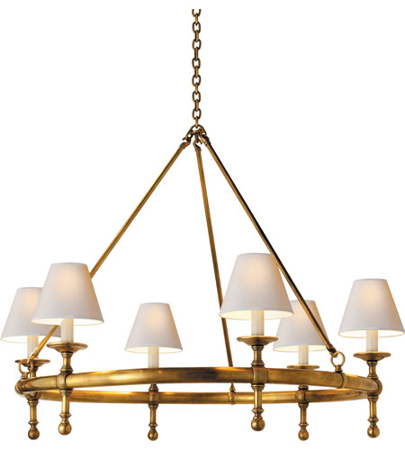 Classic Ring Chandelier Look for Less