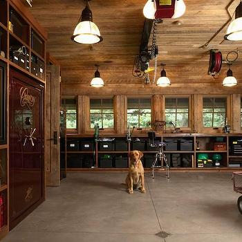 Organized Garages, Country, garage, Murphy & Co. Design