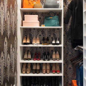 Shelf for Shoes, Contemporary, closet, Shannon Wollack
