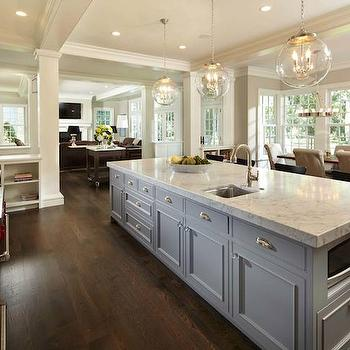Long Kitchen Islands, Transitional, kitchen, Murphy & Co. Design