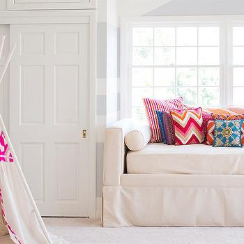 Kids Daybed, Transitional, girl's room, Shannon Wollack