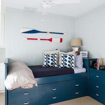 Daubed with Drawers, Cottage, boy's room, Liz Levin Interiors