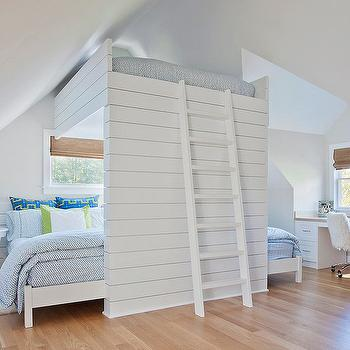 Loft Bed Ideas, Cottage, girl's room, Space Architects & Planners