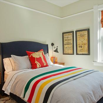 Navy Bed, Transitional, boy's room, Space Architects & Planners