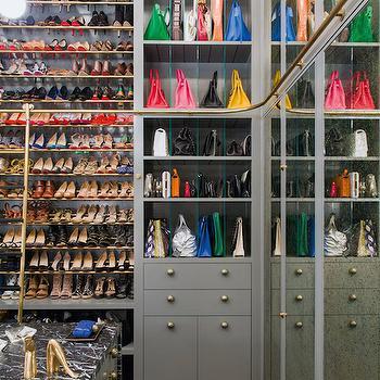 Luxurious Closets, Contemporary, closet, Architectural Digest