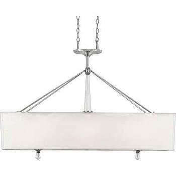 Quoizel Deluxe 3 Light Island Light in Polished Chrome I Homeclick