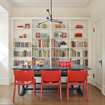 Homework Room Ideas, Transitional, boy's room, Space Architects & Planners