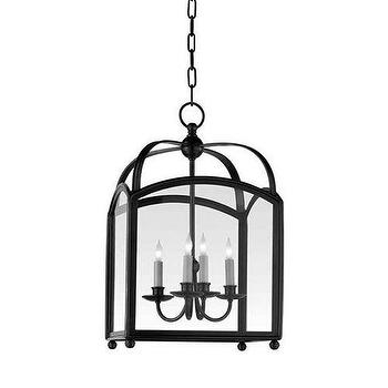 Lighting - Visual Comfort Chart House 4 Light Small Arch Top Lantern I Homeclick - bronze foyer lantern, arch top foyer lantern, arched top foyer lantern, bronze foyer pendant,