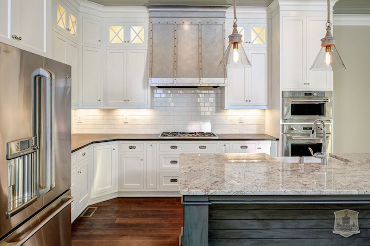 Rivet Kitchen Hood Transitional Kitchen Stonecroft Homes