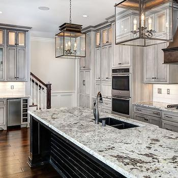 Distressed Kitchen Cabinets, Transitional, kitchen, Stonecroft Homes