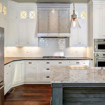 Rivet Kitchen Hood, Transitional, kitchen, Stonecroft Homes