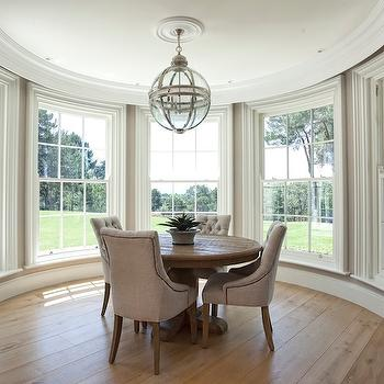 Round Dining Table, Transitional, dining room, Hayburn and Co