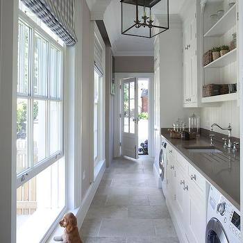 Long Laundry Rooms, Transitional, laundry room, Hayburn and Co