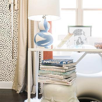 Brush Stroke Lamp, Contemporary, den/library/office, Waiting on Martha