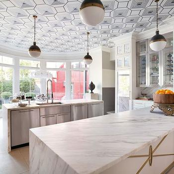 Calacatta Vagli Gold Marble Countertop Design Decor Photos Pictures Ideas Inspiration