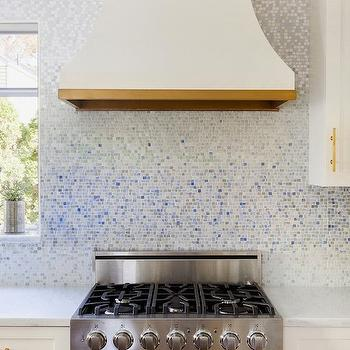 Metamorphosis Mist Tile, Contemporary, kitchen, Benjamin Moore Snowfall, Design Manifest