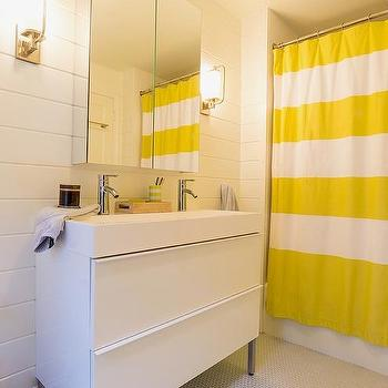 Modern, bathroom, Benjamin Moore Decorator White, Lauren Winter Interiors