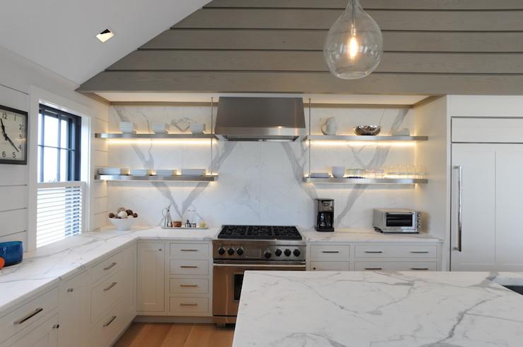 Gold Marble  Transitional  kitchen  Donna Elle Interior Design