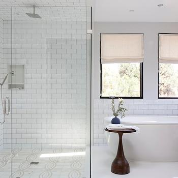Freestanding Oval Tub, Transitional, bathroom, Disc Interiors