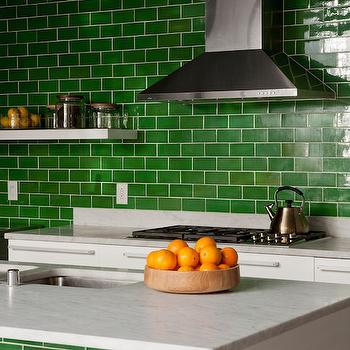 Green Kitchens, Contemporary, kitchen, Disc Interiors