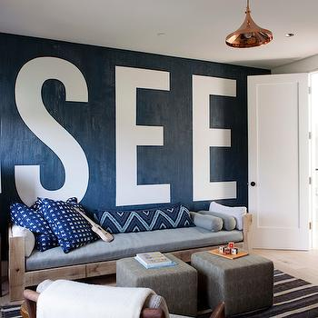 Reclaimed Wood Sofa, Eclectic, living room, Disc Interiors