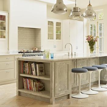 Saarinen Tulip Stools, Eclectic, kitchen, Godrich Interiors