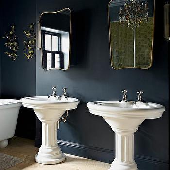 Hague Blue, Traditional, bathroom, Farrow and Ball Hague Blue, Godrich Interiors