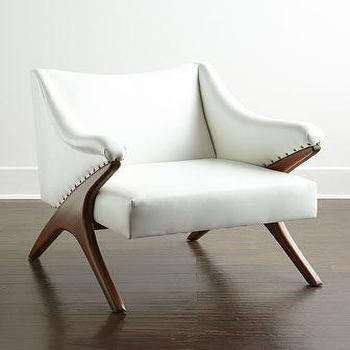 Esther Leather Chair I Horchow