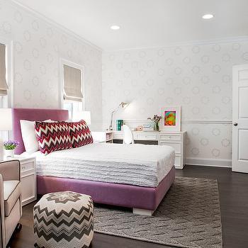 Transitional, girl's room, AE Design