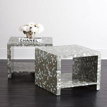 Bernhardt Abalone Side Table I Horchow