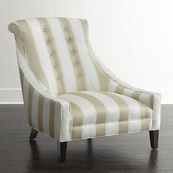 Candice Olson Lindy Stripe Chair I Horchow