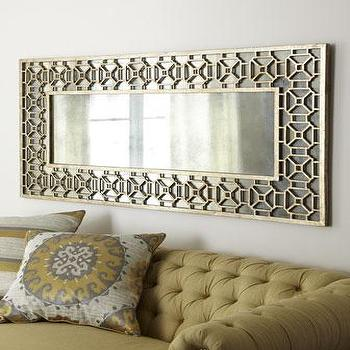 Champagne Overlay Mirror I Horchow