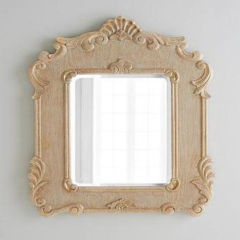 Rowena Carved Mirror I Horchow