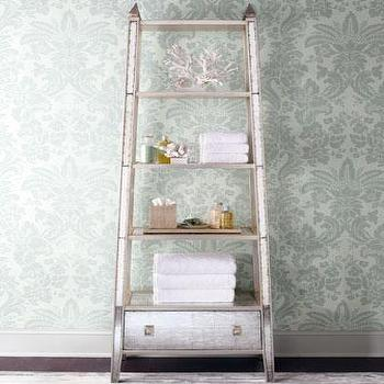 John-Richard Collection Mirrored Etagere I Horchow