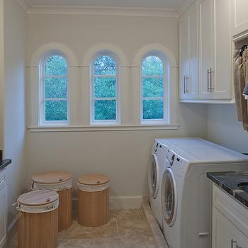Laundry Room Hampers, Transitional, laundry room, Frasier Homes