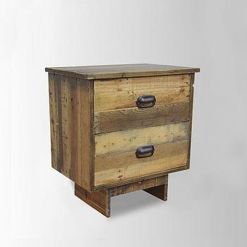 Emmerson Reclaimed Wood Nightstand, Natural I Horchow