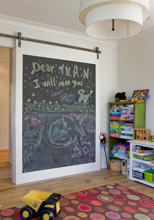 Playroom Chalkboard Wall Ideas