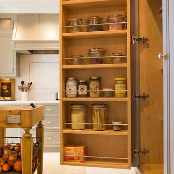 Pantry Cabinets, Transitional, kitchen, Benjamin Moore River Reflections, Charmean Neithart Interiors